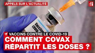 Vaccins / Covid-19 : comment Covax répartit-elle les doses ?