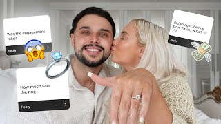 ENGAGEMENT Q+A | Ring Cost, Wedding Planning & More! | Elle Darby