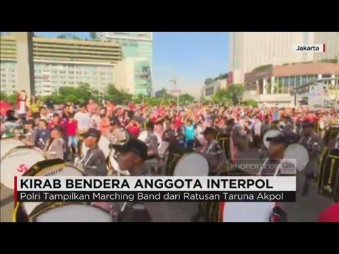 Kirab Bendera Anggota Interpol