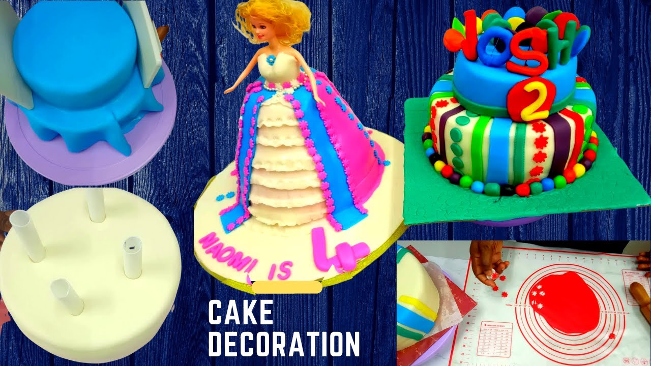 Download How to cover a cake with fondant /Nigeria cake decoration