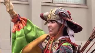南北朝時代に活躍した武将、楠木正成を祭る湊川神社周辺で26日午前、...