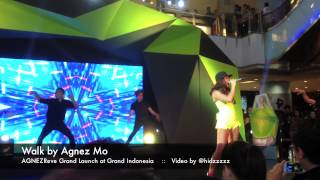 Walk by Agnez Mo - AGNEZReve Grand Launch at Grand Indonesia