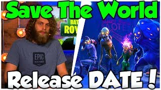 Fortnite Save The World FREE RELEASE DATE! - Fortnite Save The World For FREE!