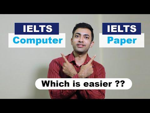 IELTS Computer vs