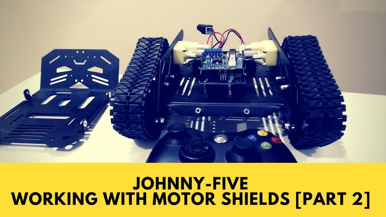 Johnny-Five: Working with Motor Shields - Lesson 2: Johnny-Five Setup