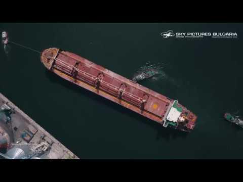 Ship drone video NAVIBULGAR - MURGASH МУРГАШ