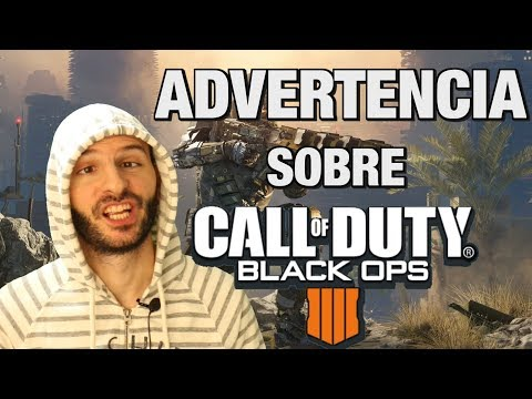 Advertencia sobre CALL OF DUTY BLACK OPS 4 - Sasel - Cod - Español thumbnail