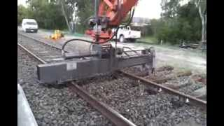 SLEEPER EXTRACTOR - RJ Rail Engineering Melbourne Victoria