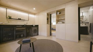 Never Too Small Ep.12 29m2 Tiny Apartment Design - Itinerant Richmond