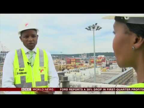 Transnet Port Terminals -TPT Port of Durban a gateway for Africa