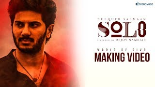 Making of Solo - World of Siva   Bejoy Nambiar, Dulquer Salmaan   TrendMusic