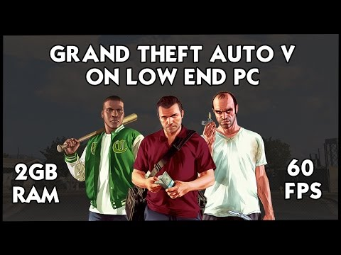 How To Run GTA 5/V on Very Low End PC | 2017 | 2GB RAM | MODS | HiteshKS