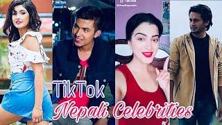 TikTok Nepal   Nepali Celebrities TikTok Musically Compilation Videos With Anmol Kc, Pradip Khadka