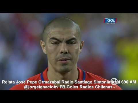 Final Copa America Centenario Chile vs Argentina (Jose Pepe Ormazabal Radio Santiago 690 AM)