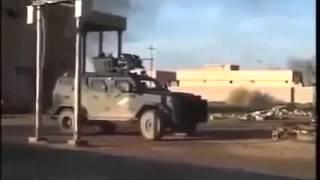 Сирия 2015 Боевика от взрыва гранаты подбросило на 2 метра