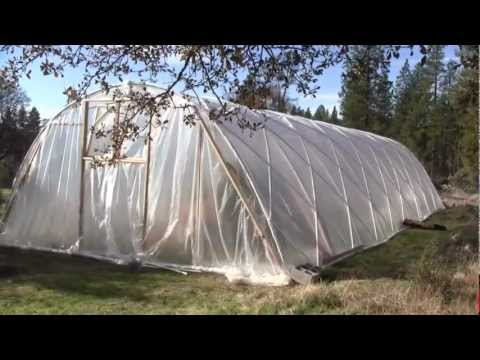 New Aquaponic Greenhouse Nov 2012