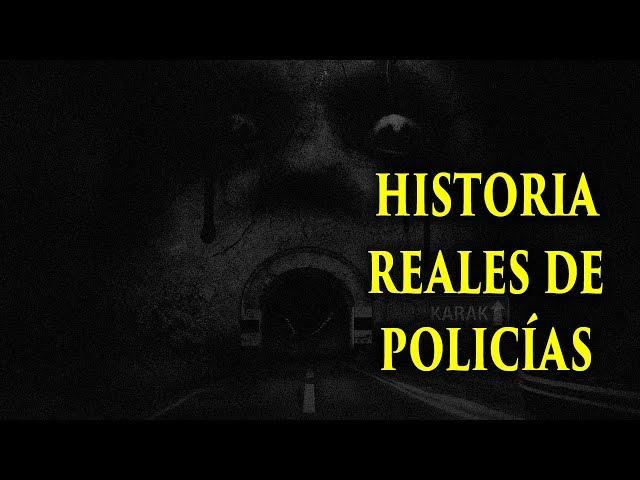 POLICÍAS COMPARTEN HISTORIAS PARANORMALES