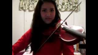 One Direction-One Way or Another VIOLIN cover (Teenage Kicks)