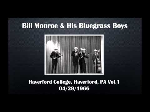 【CGUBA277】Bill Monroe & His Bluegrass Boys 04/29/1966 Vol.1