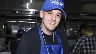 Aaron Carter Looks Healthy and Happy While Giving Back on Thanksgiving
