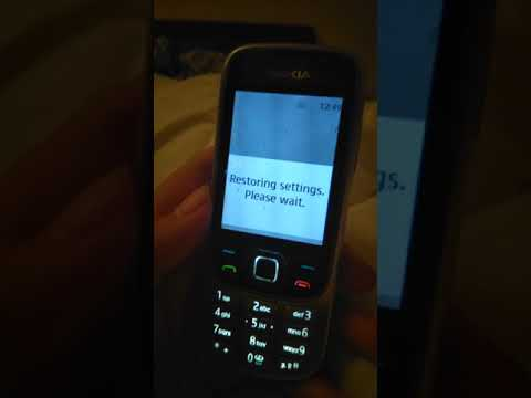 Nokia 6303i classic - hart reset