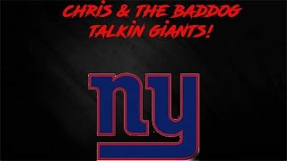 TALKIN GIANTS WITH MRBADDOG7676 NFL DRAFT AROUND THE CORNER!