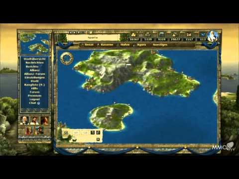 Grepolis Teaser trailer (browser) - MMO HD TV