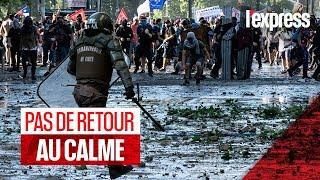 Chili : la colère des manifestants ne s'apaise pas