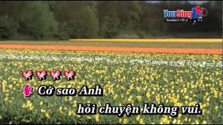 Mực Tím Mồng Tơi karaoke moi feat Nam