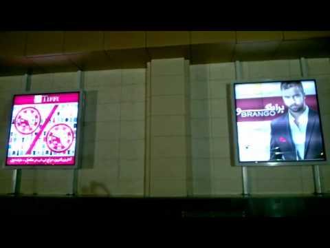 outdoor advertising scrolling light box прокрутки световой короб