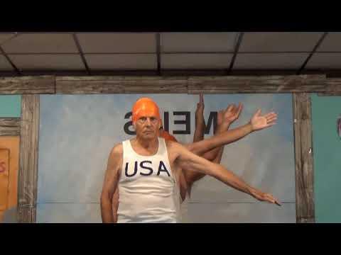 Olympic Synchronized Swimming - Senior Skit