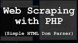PHP Web Scraping - Simple HTML DOM Parser