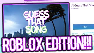 GUESS THIS SONG IN ROBLOX!!! | ROBLOX CHALLENGE!