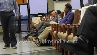 Kochi - waiting for a flight at India