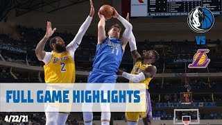 Luka Doncic (30 points) Highlights vs. LA Lakers