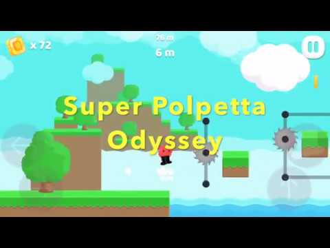 Super Polpetta Odyssey Trailer - iOS (iPhone and iPad) 2D Platform game