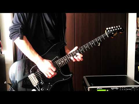 YOSHIKI  Red Swan(feat.HYDE)  SUGIZO Guitar solo cover