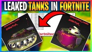 *NEW* Fortnite: TANKS & MILITARY BASE **LEAKED** CONFIRMED! (Fortnite Battle Royale Leaks)
