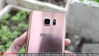 Clickbuy - Trên tay Samsung Galaxy Note 5 Pink Gold - Đẹp rạng ngời, chói lóa !!!