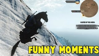 The Witcher 3 Funny Moments Bugs And Glitches