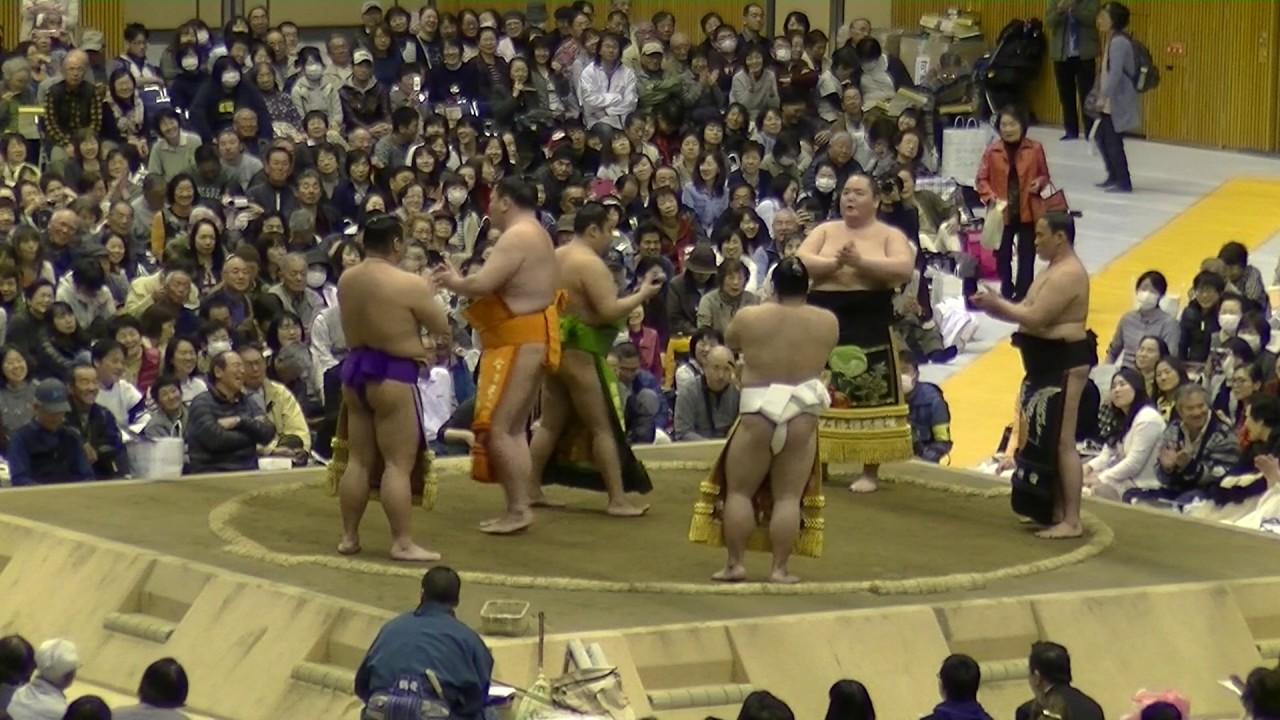 小牧巡業19/よく聞くと歌詞がかなり笑える相撲甚句!/相撲地方巡業/2017.four.three