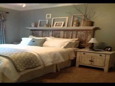 diy headboards for king beds - YouTube