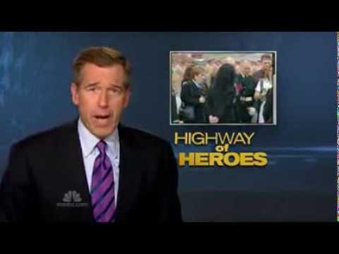 U S  Media Tribute to Highway of Heroes