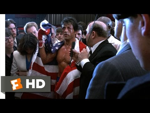 Rocky IV (12/12) Movie CLIP – Everybody Can Change (1985) HD