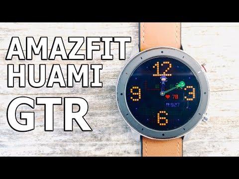 Конкурентов НЕТ ! 10 фактов о часах Xiaomi Huami Amazfit GTR