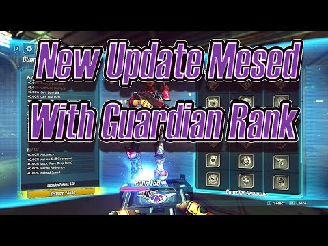 Be Careful When Downloading Saves! (You Inherit Their Guardian Rank As Of Last Update) Borderlands 3