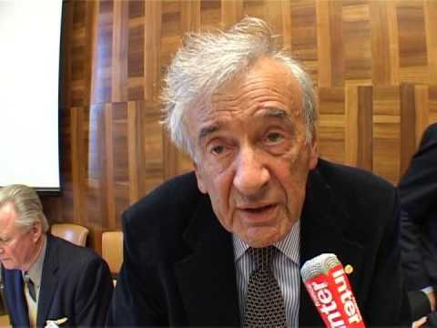 Wiesel Denounces Ahmadinejad For Anti-Israel Comments