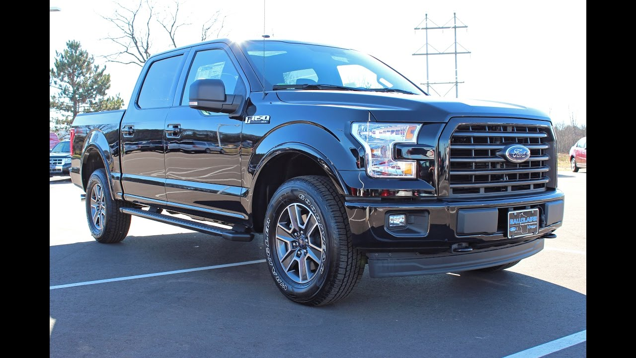 2017 ford f 150 xlt supercrew cab 5 0l fx4 at eau claire ford lincoln quick lane youtube. Black Bedroom Furniture Sets. Home Design Ideas