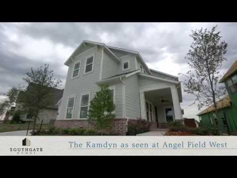 Southgate Homes at Angel Field West in Allen Texas -The Kamdyn Floorplan
