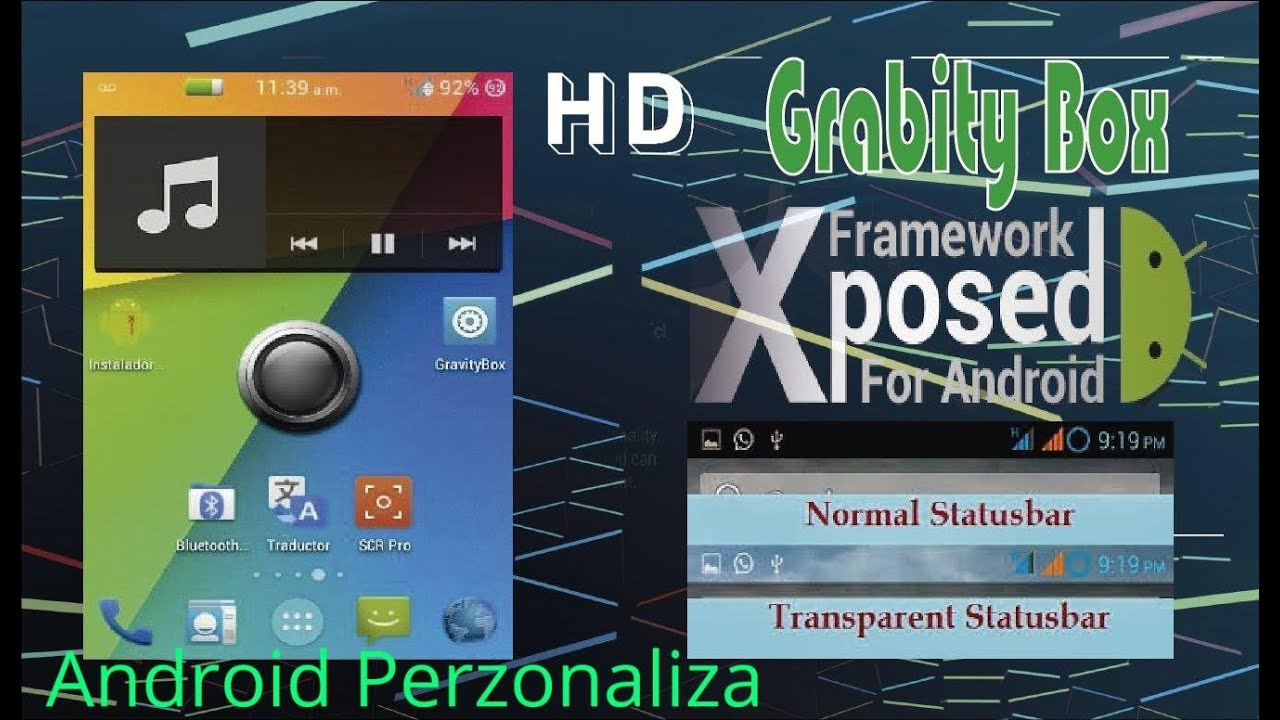 Modulo Xposed-GRAVITY BOX Y XPOSED INSTALLER [ESPAÑOL]